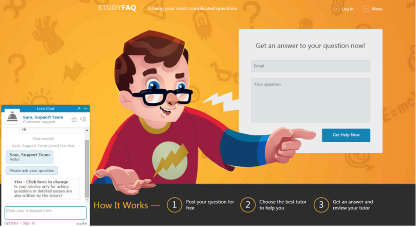 studyfaq.com tutors reviews